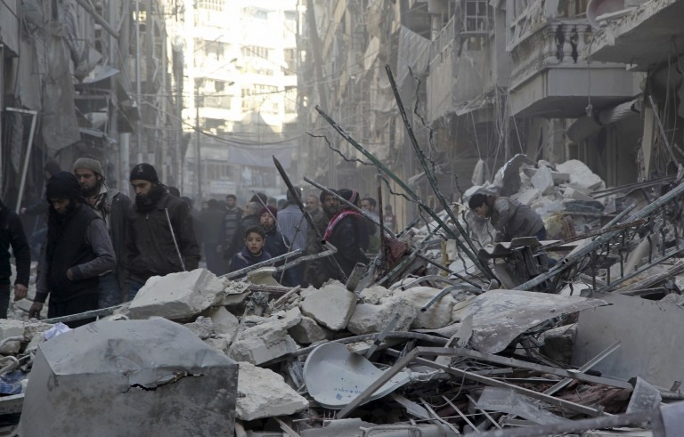叙利亚和谈中断 政府军猛攻反对派