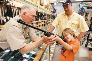 美国枪械商竟然瞄准儿童客户!