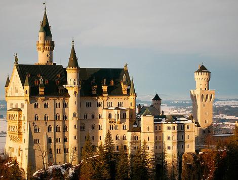 欧洲城堡图片