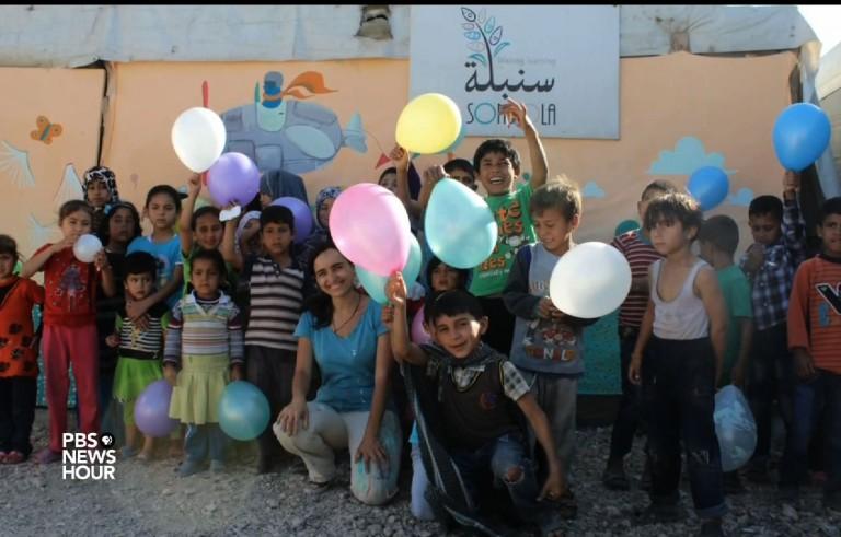 被暴力所笼罩,叙利亚人民在艺术上寻求安慰