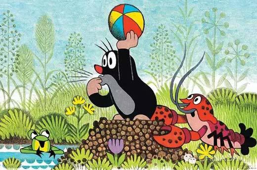 中捷合拍动画片《熊猫和小鼹鼠》开播