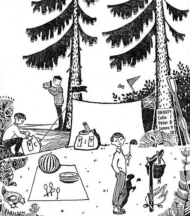 儿童杂志中的逻辑谜语 你能解开这个谜团