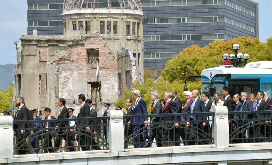 美国务卿受访广岛和平公园.png
