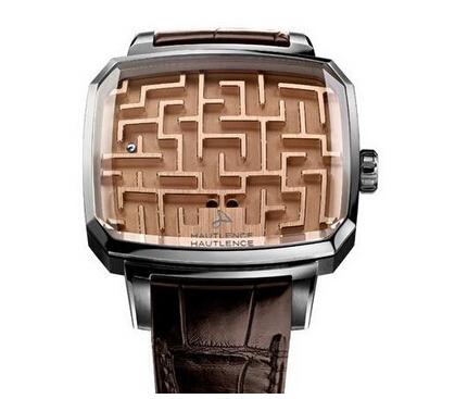 新玩法! 瑞士推出新款豪华迷宫游戏手表!