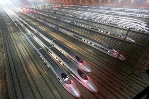 """上海虹桥至北京南站本月将开通首趟""""红眼高铁"""""""