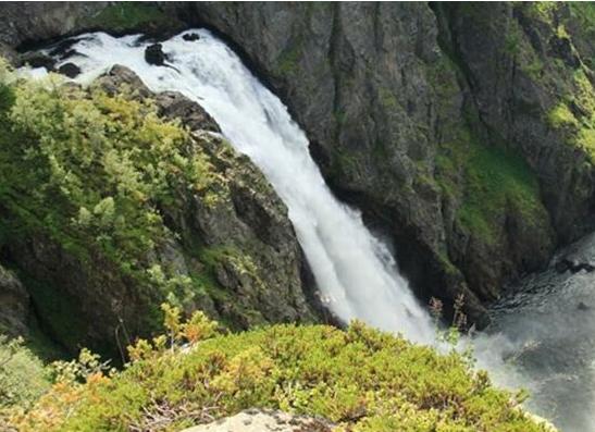 挪威风景动态图片