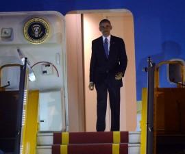 奥巴马期望首次访问越南能推进人权发展