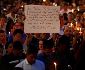 奥兰多枪击案之后,美国穆斯林受到强烈抵制