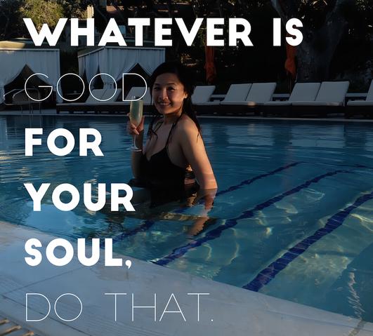 做对你灵魂有益的事