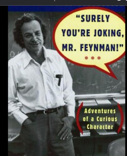 《别闹了,费曼先生!》与谢尔盖·布林