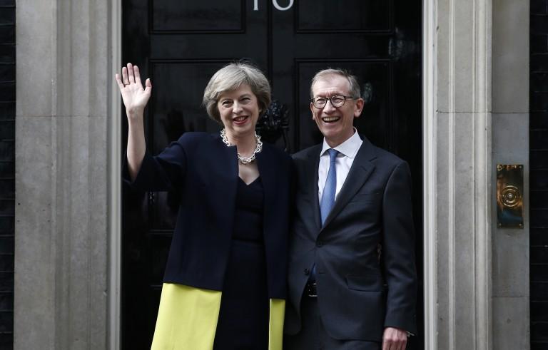 外交官员谈英国新任首相特雷莎·梅