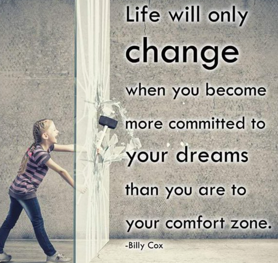 遵从梦想 生活才会改变