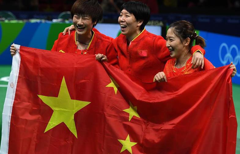不可战胜的神话 中国女子乒乓球队成功卫冕!