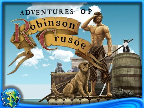 鲁宾逊荒岛求生画