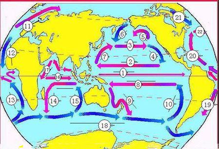 洋流循环图