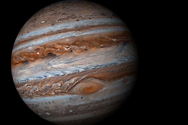 木星大红斑可释放神秘