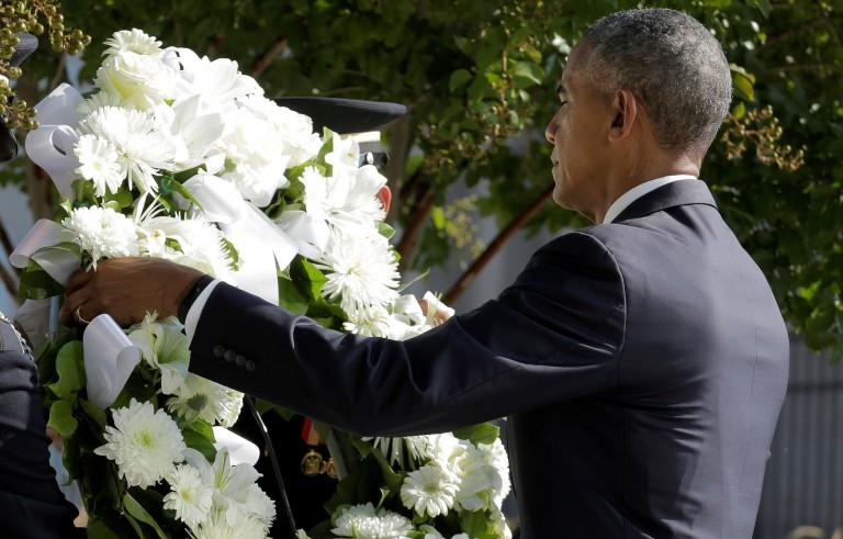 纪念9.11事件15周年 奥巴马发表演讲