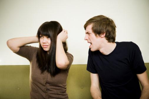 情侣之间的争吵