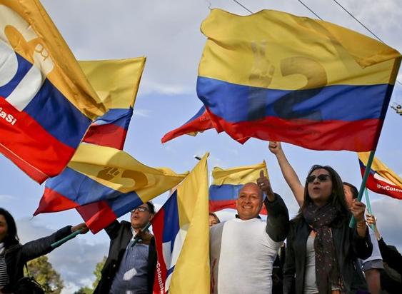 哥伦比亚政府与FARC叛军签署和平协议