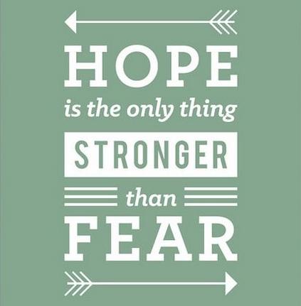 希望比恐惧更强大