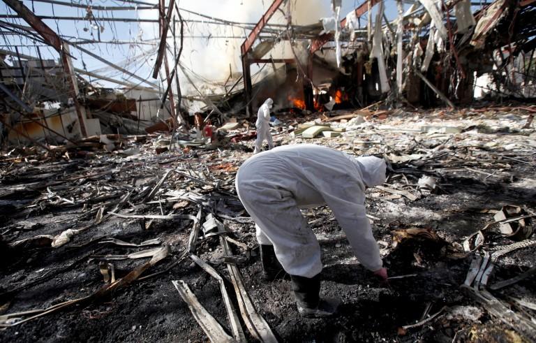 沙特空袭也门造成重大伤亡