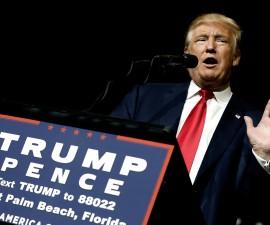 特朗普称最新指控乃是希拉里阵营策划的阴谋之一
