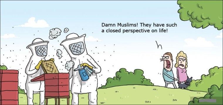 卡通伊斯兰风景图片