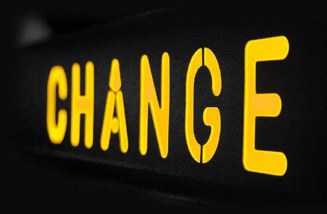 单词朗读之change