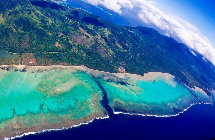 南太平洋群岛提供了很