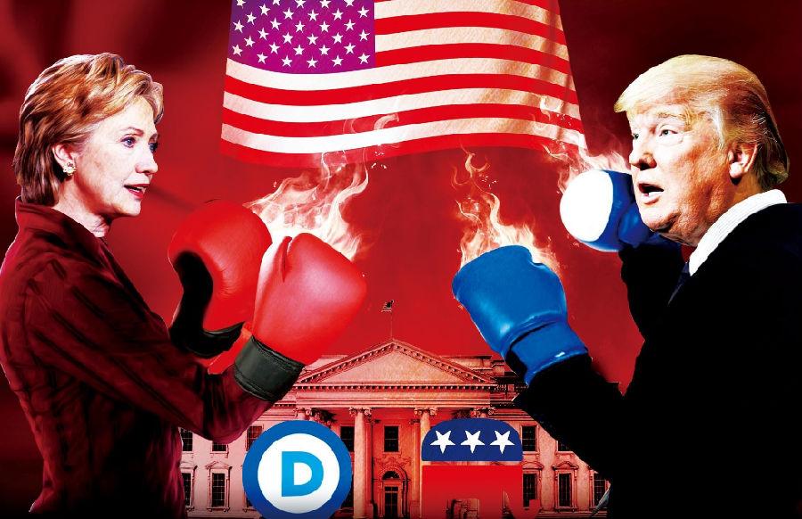2016年美国总统大选落下帷幕