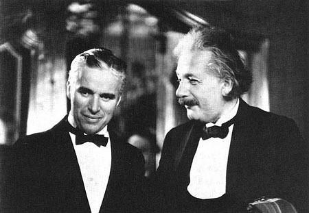 爱因斯坦与卓别林