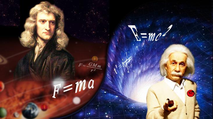 物理学历史上的两位巨人