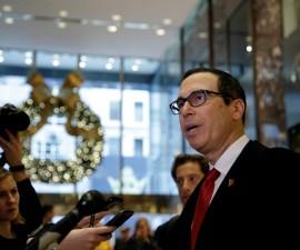 华尔街资深人士构成特朗普的经济团队