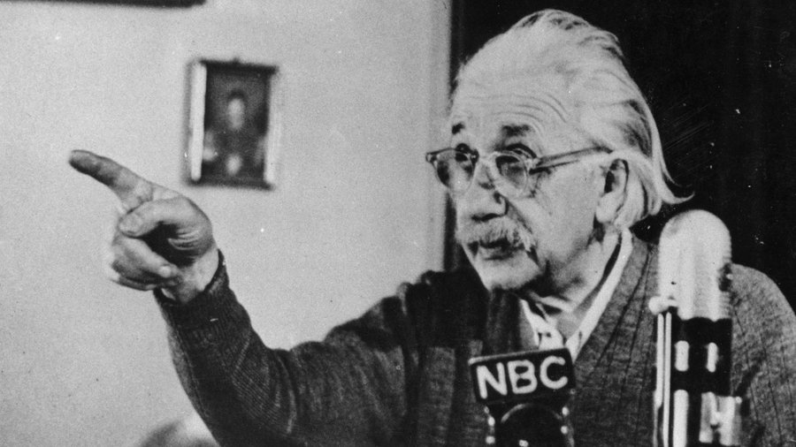 爱因斯坦珍贵照片
