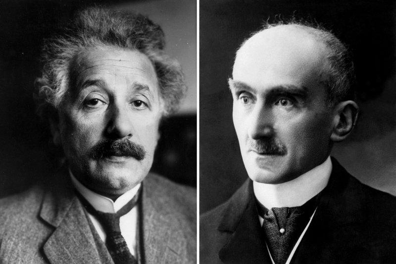 爱因斯坦与Henri Bergson