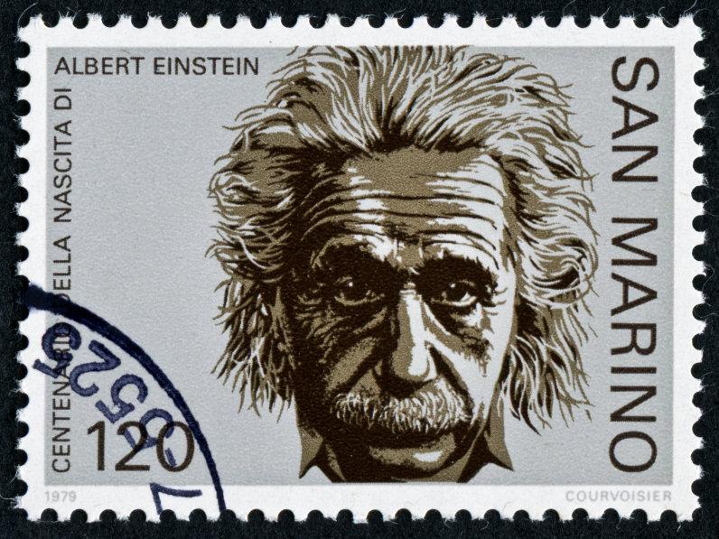 爱因斯坦邮票