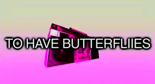一分钟英语(mp3 双语字幕) 第75期:to have butterflies 忐忑不安图片