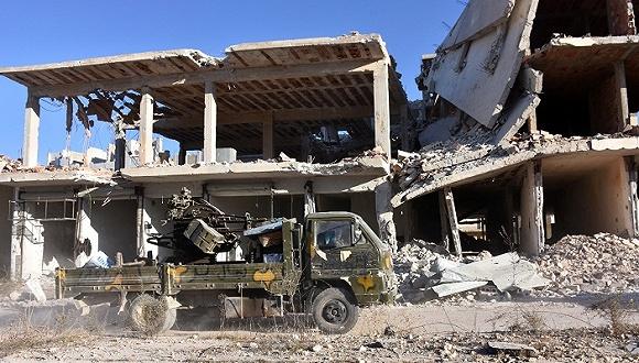 阿勒颇地区再燃战火.jpg