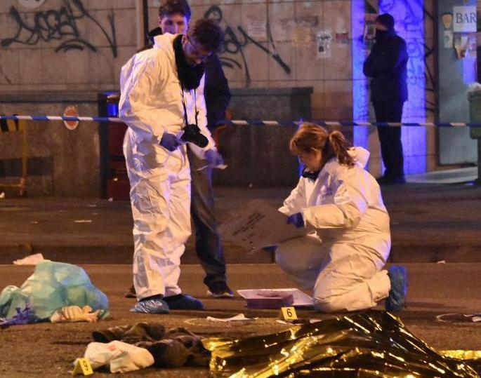 柏林卡车恐袭案嫌犯遭枪击身亡.png