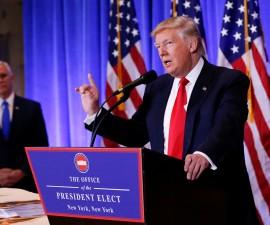 特朗普在新闻发布会上畅谈有关俄罗斯的谣言