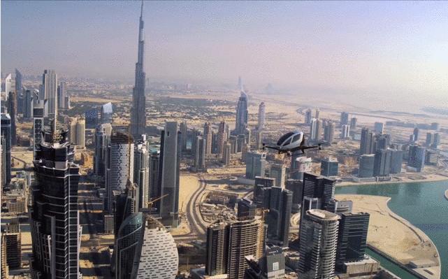 亿航184无人机迪拜试运营.png