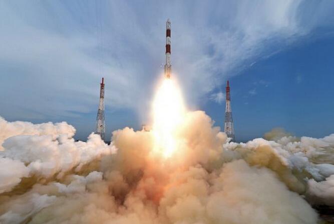印度一箭104星成功发射 卫星全入轨.jpg