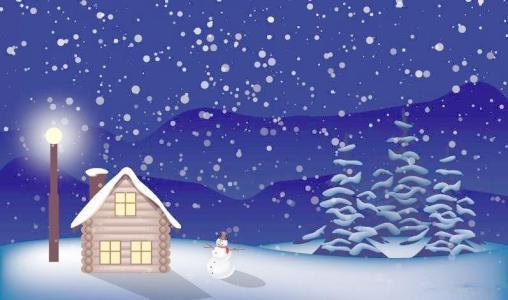 图片高兴大全可爱下雪