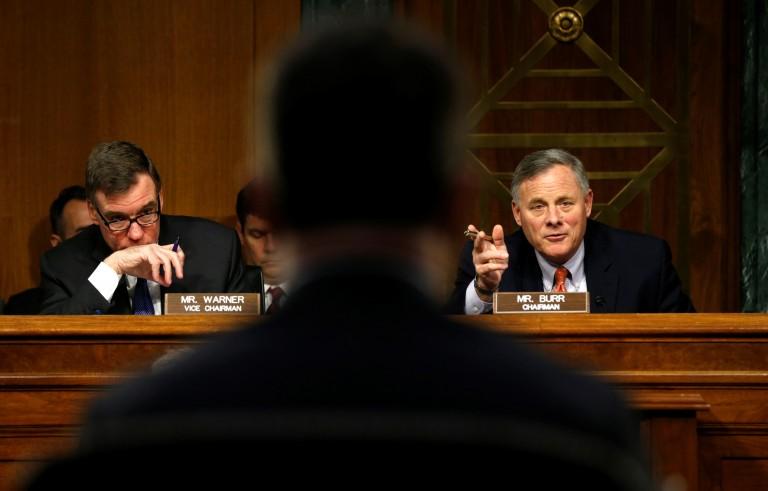 美国参议院就'通俄门'召开听证会