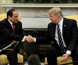 特朗普计划与埃及重启双边关系