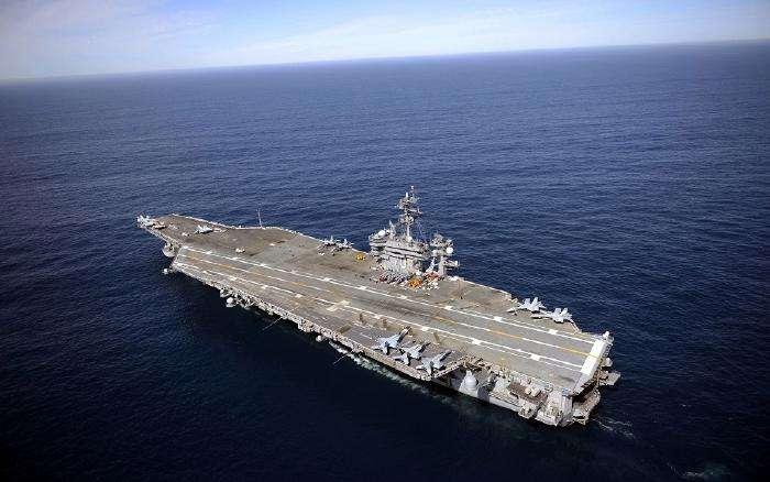 美航母战斗群抵近朝鲜半岛.jpeg