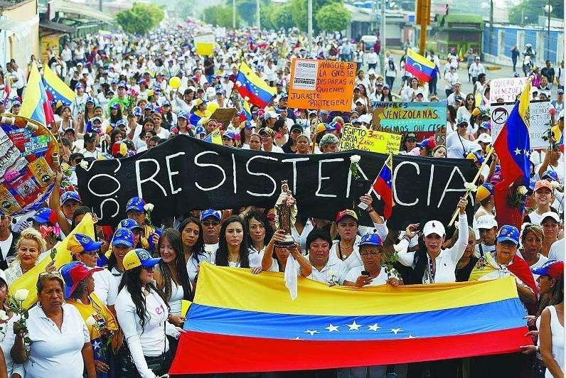 伴随政治局势紧张 委内瑞拉动乱持续