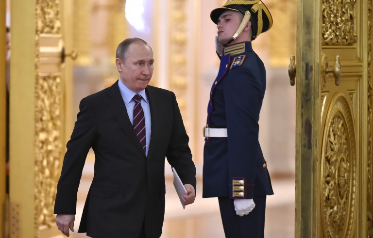 机密文件显示 俄罗斯智库干预美国大选