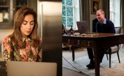 Lady Gaga和威廉王子谈论精神疾病