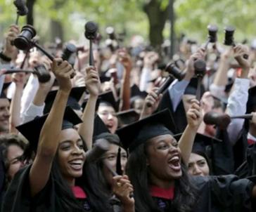 哈佛大学将于今年首办黑人学生毕业典礼